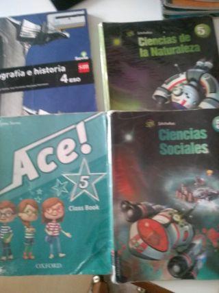 Libros de texto 5 y 6 primaria