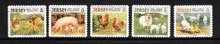 Jersey sellos animales de granja