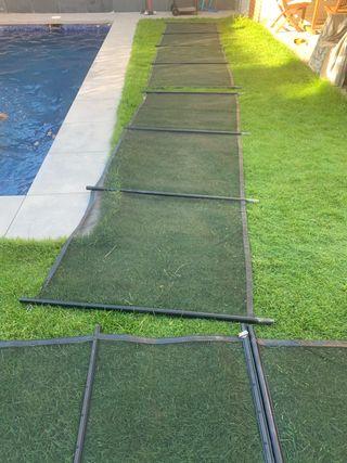 Valla de protección piscina