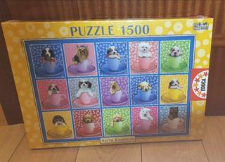 Puzzle perritos