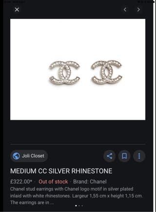 Brand new Chanel earring