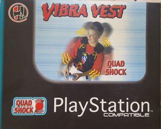 CHALECO VIBRA VEST PARA PLAYSTATION 1 SIN USO
