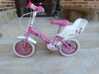 Bicicleta niña ruedas 12