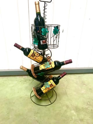 botellero con asa