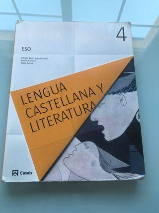 Libro Lengua y Literatura 4° ESO