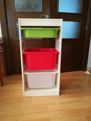 Cajonera almacenaje de juguetes Ikea