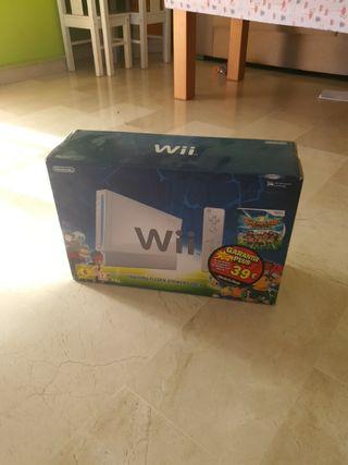solo caja Wii edición inazuma eleven nintendo