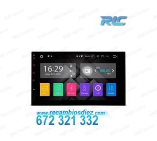 RADIO GPS UNIVERSAL 2DIN CON ANDROID 7.1 HDMI LCD