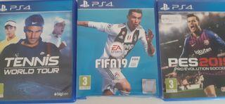 OFERTA 6 JUEGOS PS4 40 EUROS!!!