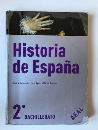 Historia de España 2ºBachillerato AKAL