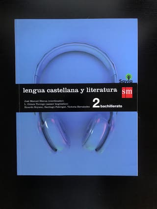 Libro Lengua Castellana 2 Bachillerato