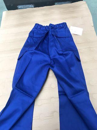 pantalón multibolsillos con elástico trabajo