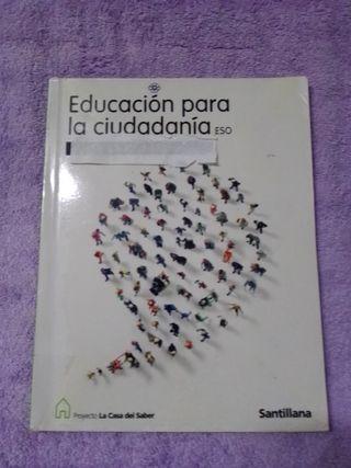 libro educación ciudadana 3 eso
