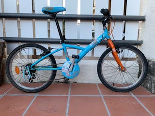 Bicicleta infantil rueda de 20 pulgadas