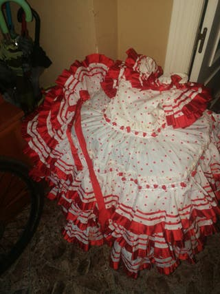 bestido de flamenca