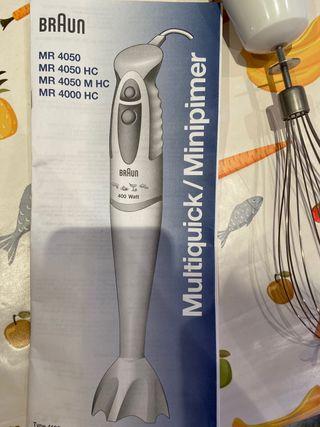 Batidora Braun Minipimer