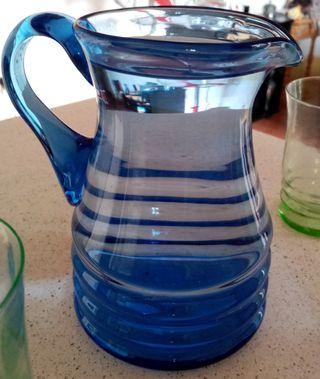 Juego de cristal para agua