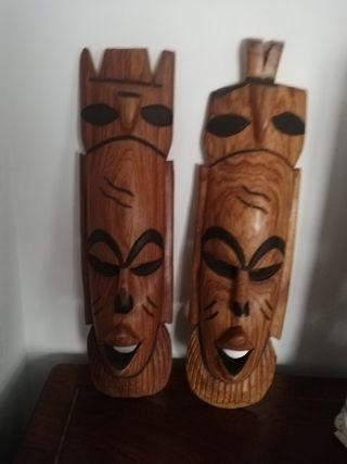 Máscaras tribales africanas