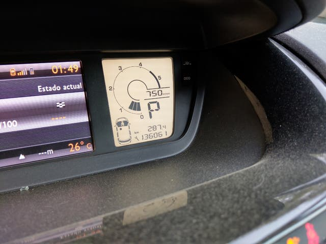 Citroen Grand C4 Picasso 2012