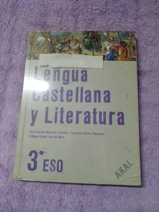 libro literatura 3 eso