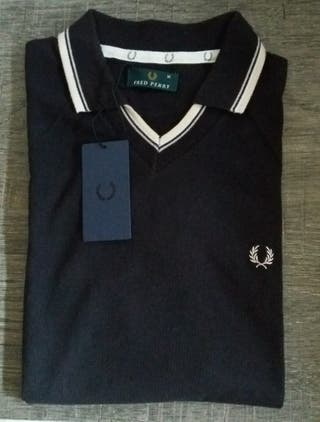 Polo negro Fred Perry