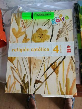 religión católica cuarto de primaria - sm