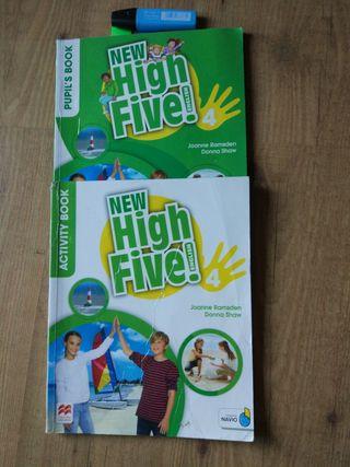 Libro de cuarto de primaria - New high Five