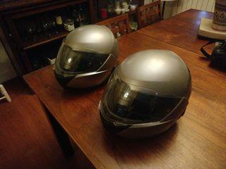 casco bmw 5 con intercomunicador