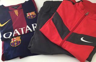 Nike Equipamiento Barça niño Y chándal.