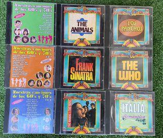 Cd música años 60 y 70