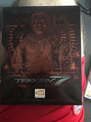 Tekken 7 caja metalica pS4