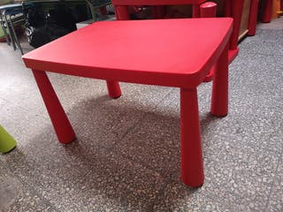 mesa plástico ikea