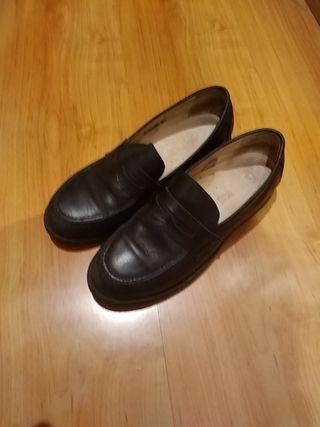 zapatos de piel comunión