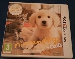 Nintendo Ninten dogs + Cats golden retriever