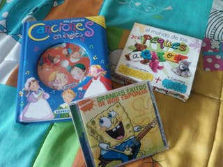 Lote 3 CD musica infantil.