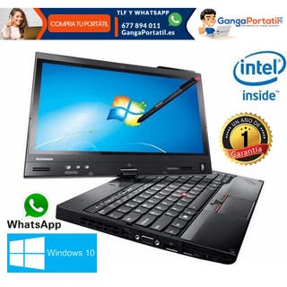 Portátil Lenovo X230, pantalla táctil/i5/8Gb/240Gb
