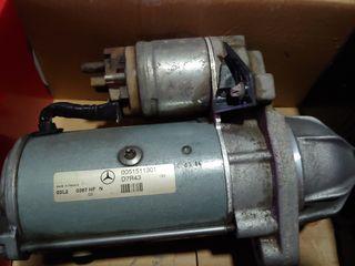 Motor Arranque Merdeces Vito CDI 110. Encendido