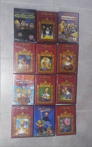 DVDs de los SIMPSONS