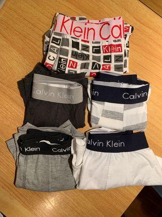 Pack 4+1 calzoncillos boxer Calvin Klein