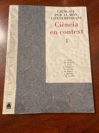 Llibre ciencies per al mon contemporani