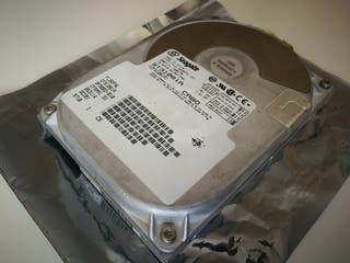 Disco Duro Seagate 1,08 GB IDE Vintage Retro