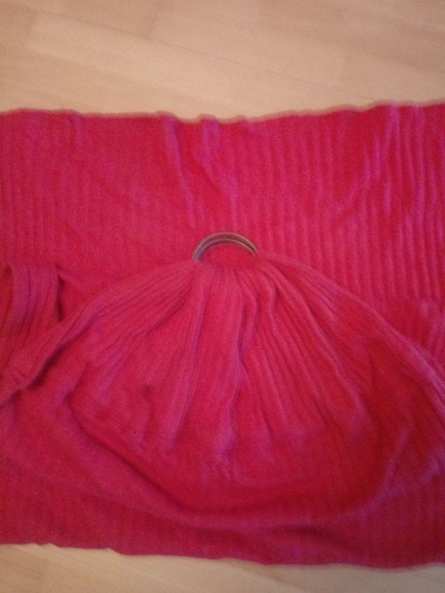 Bandolera portabebés foulard