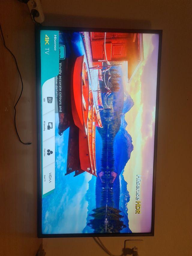 Televisión Smart TV 4k 49 pulgadas