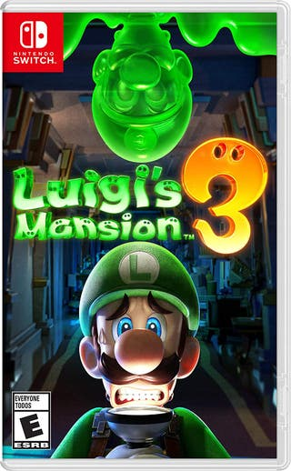 Luigi mansión 3 Nintendo switch