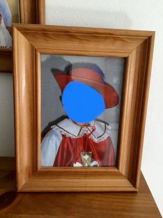 Marcos de foto de Ikea de madera. Varios tamaños