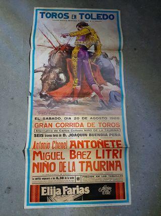 cartel taurino antigulo.
