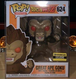 Funko pop Great Ape Goku 624 Exclusive
