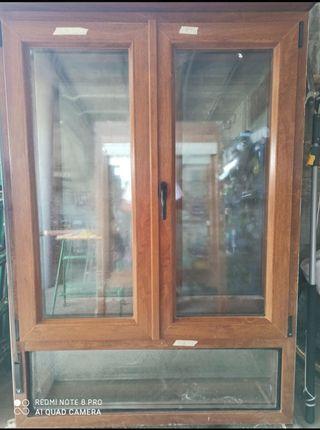 3 ventanas de PVC