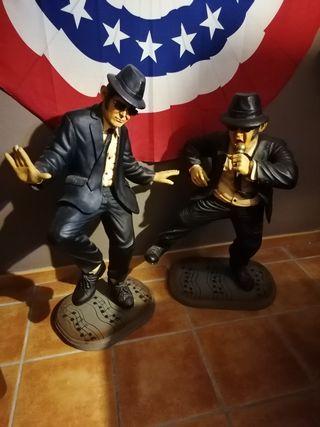 Figuras Blues Brothers fibra