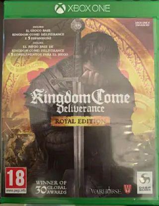 Kingdom come deliverance royal (Precintado) Xbox